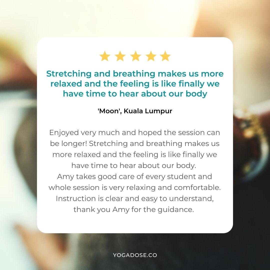 yoga dose testimonial 16