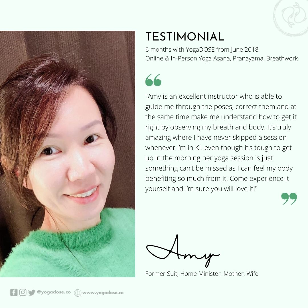6 Month Testimonial - Amy