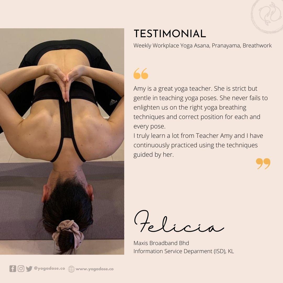 6 Month Testimonial - Felicia