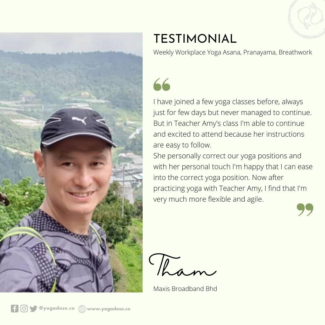 6 Month Testimonial - Tham