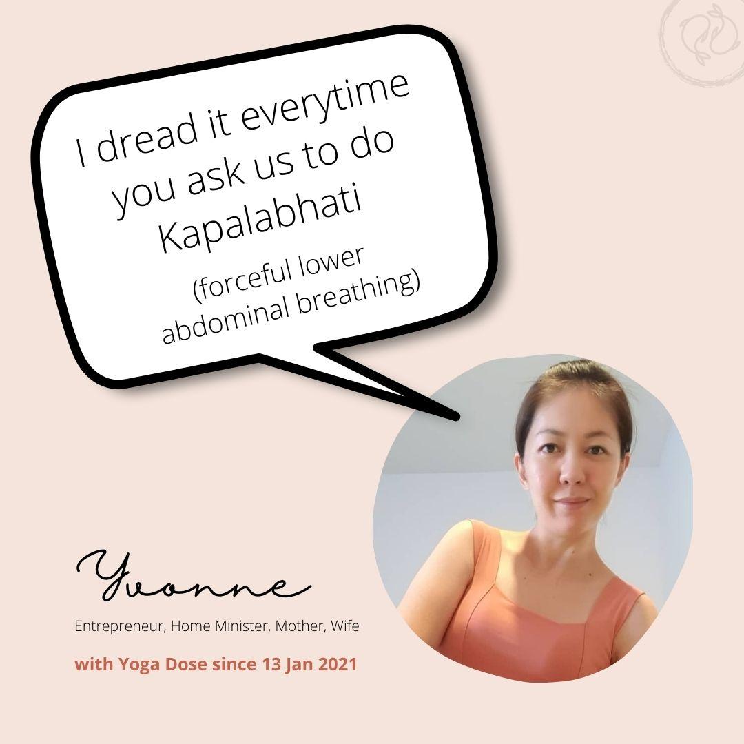 yoga dose testimonial 4