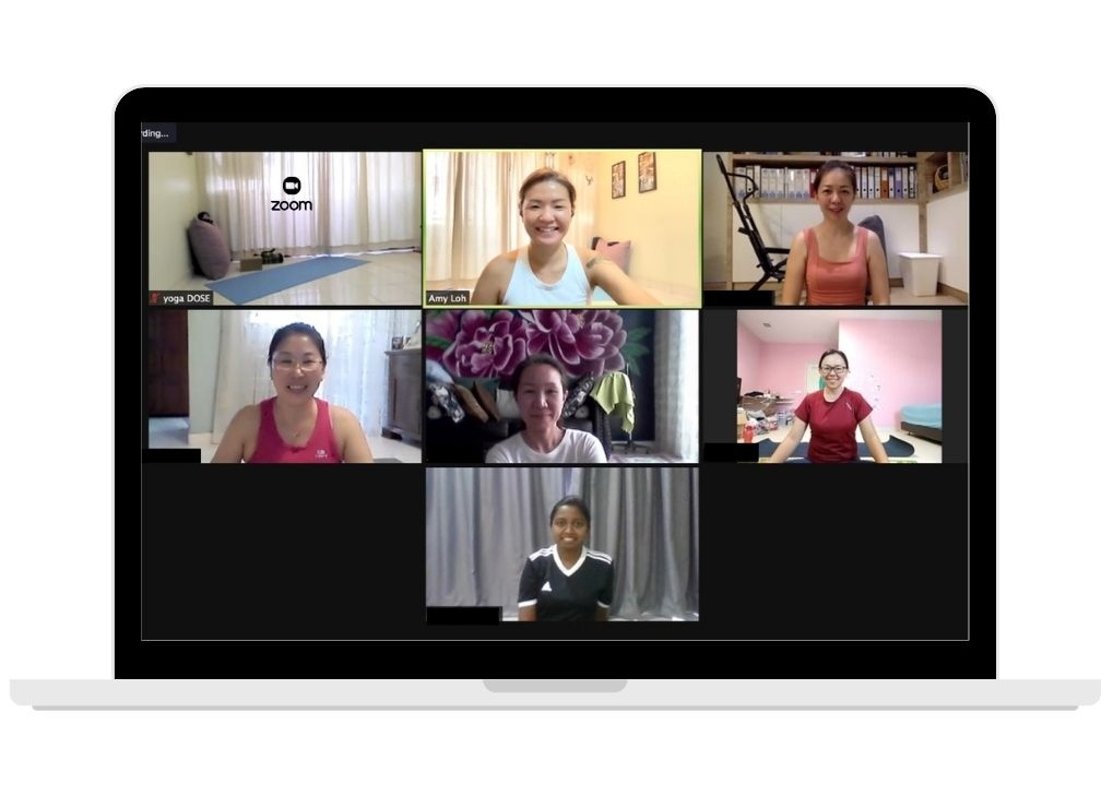 yoga dose online group class
